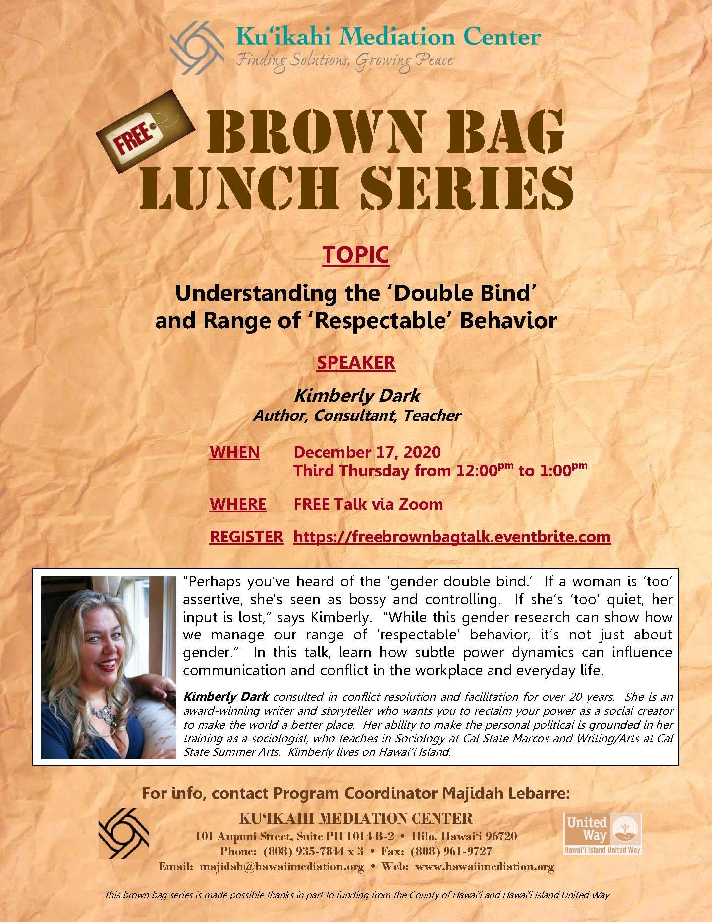 Flyer- Brown Bag 12-17-20